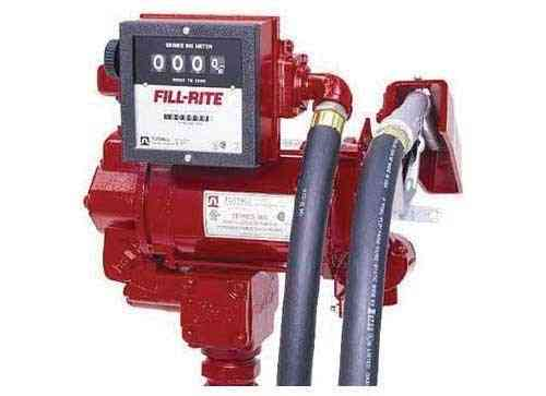 High Flow AC Pump w/Meter - 30GPM